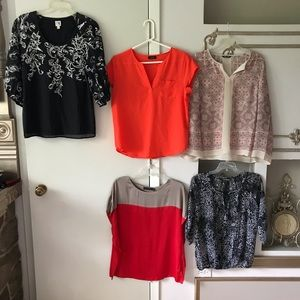 5 classy Tops small S Work casual reseller bundle